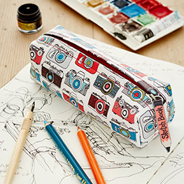 Sketchbook Pencil Cases