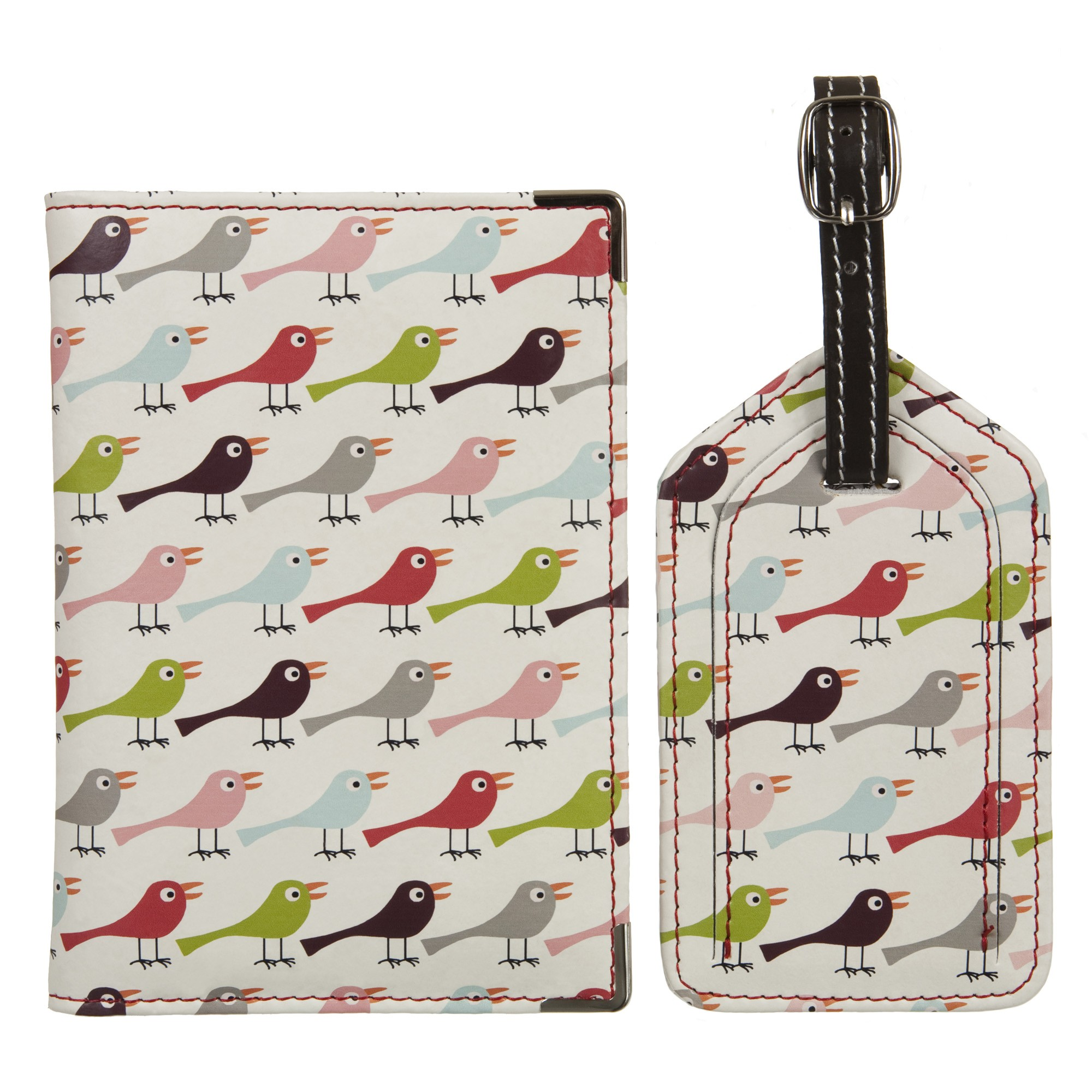 Birds Luggage Tag Set