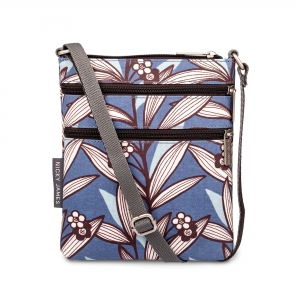 Wildflower Blue Mini Crossbody Bag