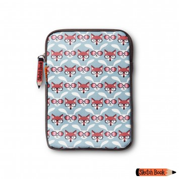 Fox and Rabbit Small Tablet Case