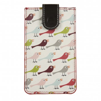 Birds Leather iPhone Sleeve