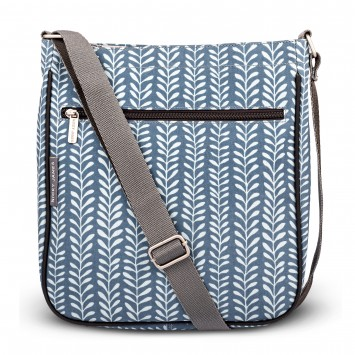 Vine Blue Large Crossbody Bag