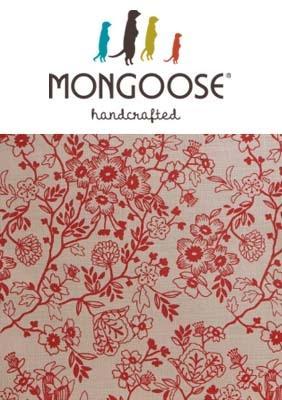 Mongoose Floret Red Print