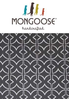 Mongoose Mudcloth Print