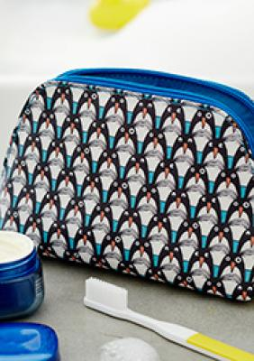 Sketchbook Make-Up Bags