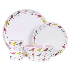 Birds Dinner Plate