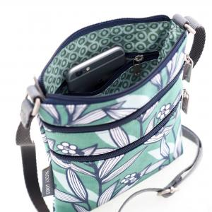 Wildflower Green Mini Crossbody Bag