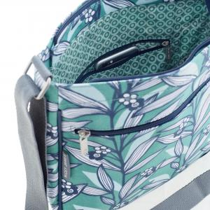 Wildflower Green Large Crossbody Bag