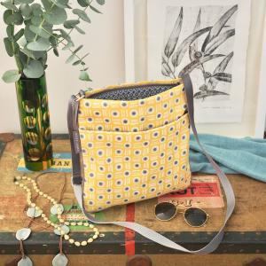 Mustard Pot Medium Crossbody Bag