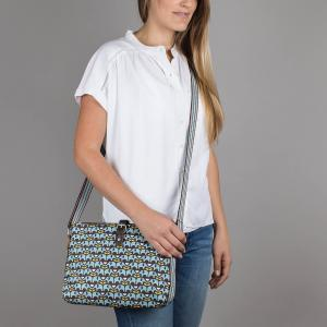 Elephants Crossbody Day Bag
