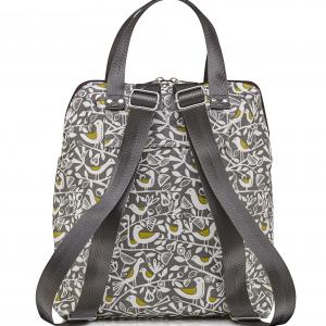 Grey Doves Ladies Backpack