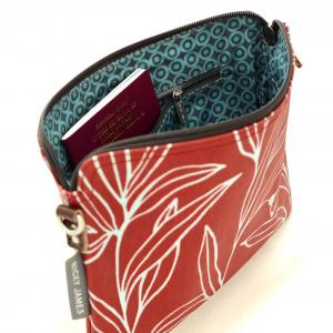 Eucalyptus Clutch with Removable Strap