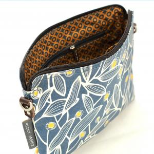 Mimosa Clutch with Removable Strap