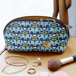 Elephants Make-up Bag