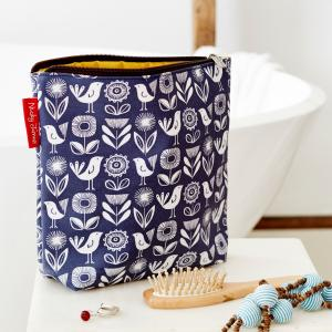 Paper Flower Large Wash Bag