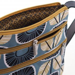 Sunflower Canvas Flat Crossbody Bag
