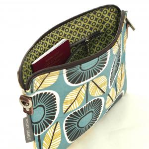 Sunflower Clutch Bag with Strap